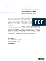 Informe Proyecto de Ley Particpacion Ambiental
