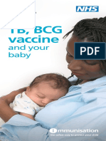 TB BCG Baby Leaflet