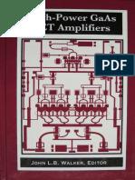 High Power GaAs FET Amplifiers [Walker 1993]