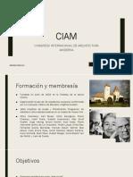 CIAM 1