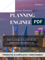Planning Engineer Question & Answers