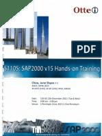 SAP2000-v-15-Hands-On-Training