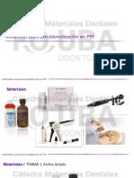 Materiales Para Provisionalización en PPF