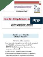 Comités Hospitalarios de Bioética