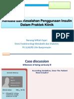 kesalahan penggunaan insulin dalam praktek sehari hari.pptx