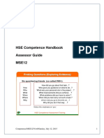 2016-07-29 HSE Competence Assessor Guide Booklet