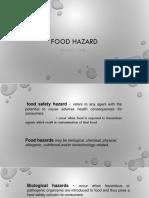 Food Hazard Delantar