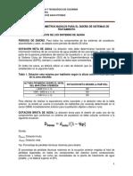 Módulo v. Parámetros Básicos Para El Diseño de Sistemas de Tratamiento