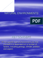 Outdoor Environments Powerpoint