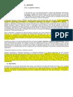 Resumão - Patologia - Prova I