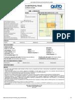 Informe de Regulación Metropolitana