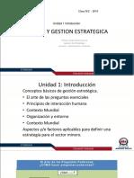 Clase 1 Diseño y Gestión Estrategica
