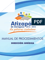 MANUAL DE PROCEDIMIENTOS (Direccion Juridica).pdf