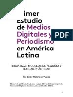 ESTUDO DE MEIOS DIGITAIS E JORNALISMO NA AMERICA LATINA