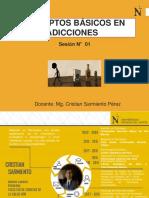 SESIÓN N° 01 CONCEPTOS BÁSICOS EN ADICCIONES