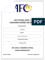 394261331 Afc Futsal Level 1 Log Book 1