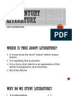 21st Century Literature Review