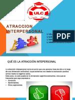 atraccion interperaonal