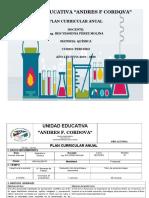 Pca Quimica 3er Bachillerato