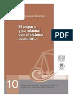10 – El amparo y su relación con el sistema acusatorio - Justicia restaurativa en México y España - Serie juicios orales – Núm 10 – Hesbert Benaventes Chorres.pdf