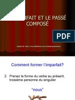 imparfait and passe compose
