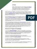 Virgen de Guadalupe. Parte 3