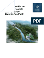 Plan Gestion Riesgos Ph Capulin San Pablo
