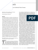 Perez2015 Algae-mediated Valorization of Industrial Waste Water Streams