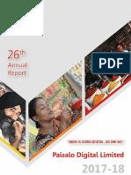 Paisa Annual Report 2017 2018