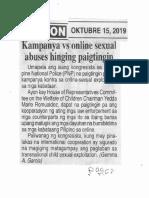 Ngayon, Oct. 15, 2019, Kampanya vs online sexual abuses hingin paigtingin.pdf