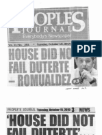 Peoples Journal, Oct. 15, 2019, House did not fail Duterte - Rmualdez.pdf