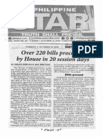 Philippine Star, Oct. 15, 2019, Over 220 bills processed by House in 20 session days.pdf