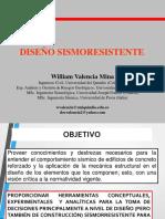 DIAPOSITIVAS DISEÑO SISMORESISTENTE