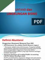 Akuntansi Dan Lingkungan Bisnis