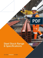 British Steel Sections - Specifications