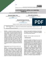 Dialnet-UltimosAvancesEnLaFabricacionAditivaConMaterialesM-6771080