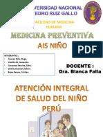 Atención Integral de Salud Del Niño Perú