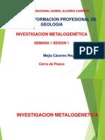 1 Investigacion Metalogenetica