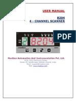 8204 User Manual
