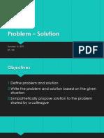 Problem – Solution.pptx