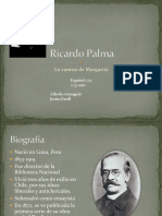 Ricardo Palma La Camisa de Margarita