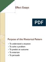 Cause Effect Essays Online Version