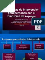 Intervención para personas con Síndrome de Asperger