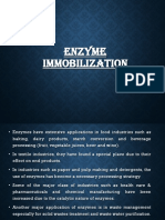 Enzyme Immobilization _ 5th SEM