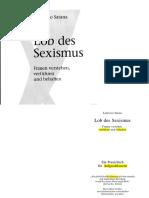 [Lodovico Satana] Lob Des Sexismus. Frauen Versteh