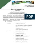 CREATION OF PERSONNEL SELECTION BOARD E.O. 15
