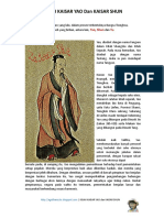Kisah Kaisar Yao Dan Kaisar Shun