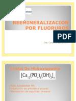 Reemineralizacion Por Fluoruros