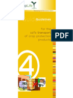 Guidelines for the Safe Transport of Crop Protection Products