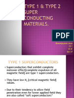 Type Superconducting